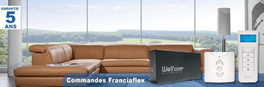 Commandes Franciaflex